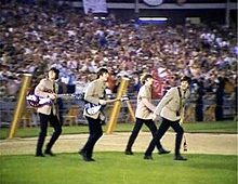 The Beatles at Shea Stadium, August 15, 1965, 56th Anniversary