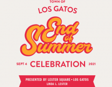 Los Gatos End of Summer Celebration concert event, Labor Day weekend, Sat., Sept. 4 from 1-8pm.