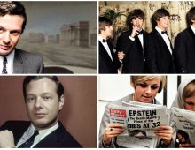 Honoring Brian Epstein, 57 years after the untimely death of The Beatles' manager.